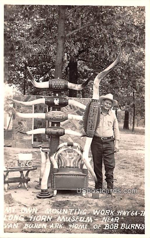 My Own Mounting Work - Van Buren, Arkansas AR Postcard