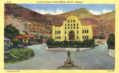Cochise County Court House - Bisbee, Arizona AZ Postcard