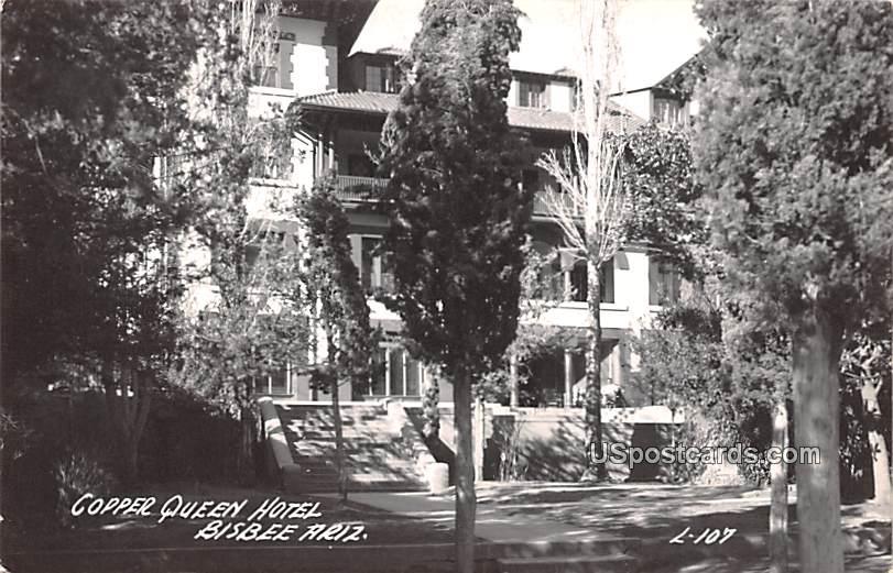 Copper Queen Hotel - Bisbee, Arizona AZ Postcard