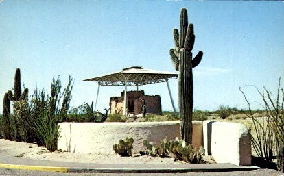 Casa Grande Ruins National Monument - Coolidge, Arizona AZ Postcard