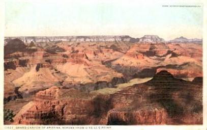 Across from O'Neill's Point - Grand Canyon National Park, Arizona AZ Postcard