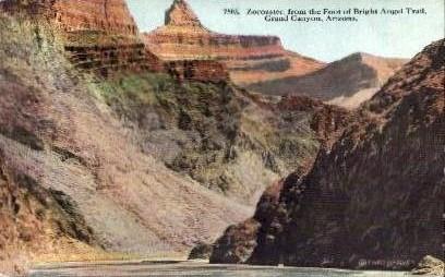Zoroaster - Grand Canyon National Park, Arizona AZ Postcard