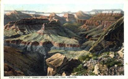 From Breeze Point - Grand Canyon National Park, Arizona AZ Postcard