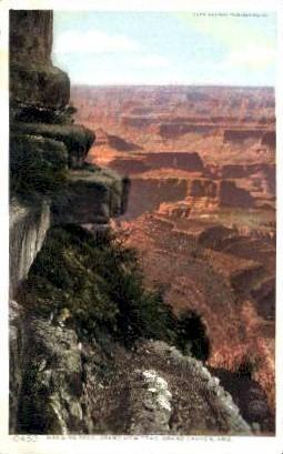 Hanging Rock - Grand Canyon National Park, Arizona AZ Postcard