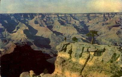 Navajo and Hopi Indians - Grand Canyon National Park, Arizona AZ Postcard