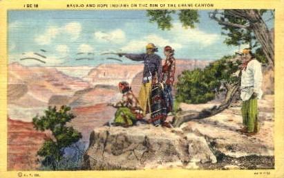 Broad Street - Grand Canyon National Park, Arizona AZ Postcard