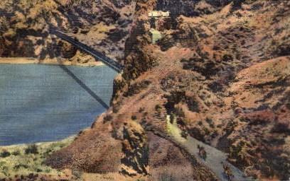 Kaibab Trail and Bridge - Grand Canyon National Park, Arizona AZ Postcard