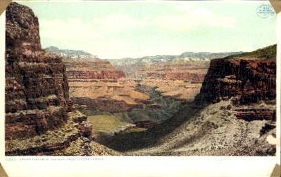 From jacob's Ladder - Grand Canyon National Park, Arizona AZ Postcard