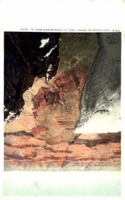 The Overhang - Grand Canyon National Park, Arizona AZ Postcard