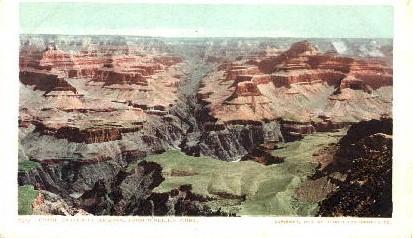 From O'Neill's Point - Grand Canyon National Park, Arizona AZ Postcard