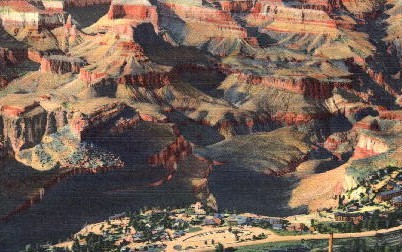 From the Air - Grand Canyon National Park, Arizona AZ Postcard
