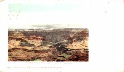 Looking Across - Grand Canyon National Park, Arizona AZ Postcard