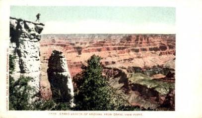 From Grand View Point - Grand Canyon National Park, Arizona AZ Postcard