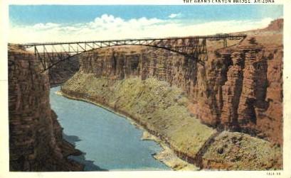 The Bridge - Grand Canyon National Park, Arizona AZ Postcard