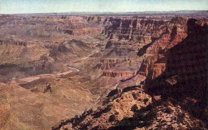 The Watch Tower - Grand Canyon National Park, Arizona AZ Postcard