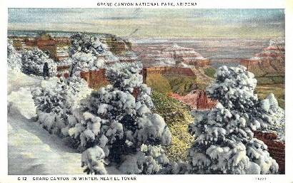 Hotel El Tovar - Grand Canyon National Park, Arizona AZ Postcard