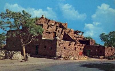 The Hopi House - Grand Canyon National Park, Arizona AZ Postcard