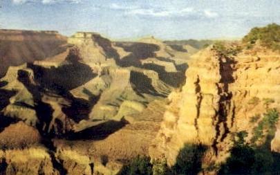 Yaki Point - Grand Canyon National Park, Arizona AZ Postcard
