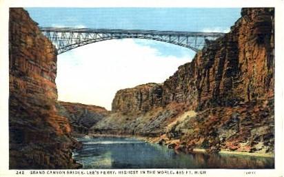 Lee's Ferry - Grand Canyon National Park, Arizona AZ Postcard