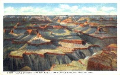 Hopi Point - Grand Canyon National Park, Arizona AZ Postcard