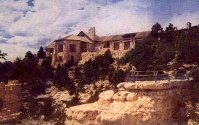 Grand Canyon Lodge - Grand Canyon National Park, Arizona AZ Postcard