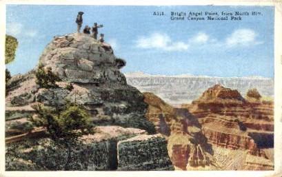 Bright Angel Point - Grand Canyon National Park, Arizona AZ Postcard