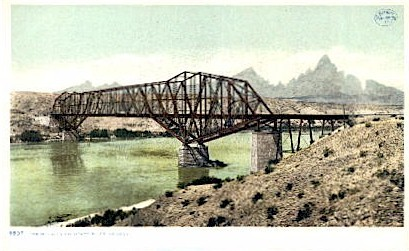 The Needles, Colorado River - Misc, Arizona AZ Postcard