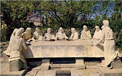 The Last Supper - Misc, Arizona AZ Postcard