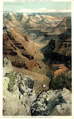 Grand View Hotel - The Grand Canyon, Arizona AZ Postcard