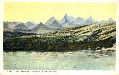 The Needles - Arizona AZ Postcard