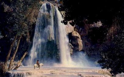 Havasu Falls - Grand Canyon National Park, Arizona AZ Postcard