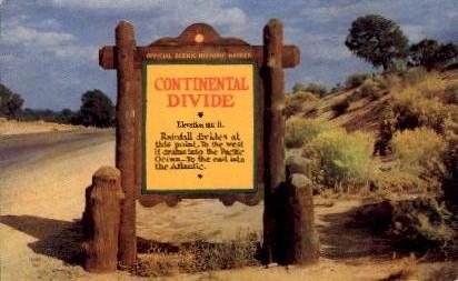 Continental Divide - Phoenix, Arizona AZ Postcard
