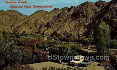 Willow Beach Resort - Arizona AZ Postcard