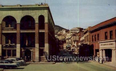Main St. - Bisbee, Arizona AZ Postcard
