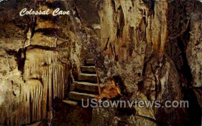 Colossal Cave - Tucson, Arizona AZ Postcard