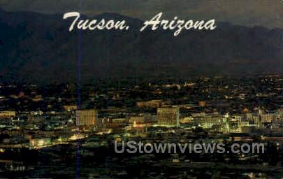 Tucson, AZ, Arizona Postcard
