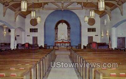 Evangelical Lutheran Church - Tucson, Arizona AZ Postcard