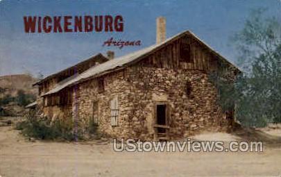 Old Rock House - Wickenburg, Arizona AZ Postcard