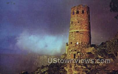 The Watchtower - Grand Canyon National Park, Arizona AZ Postcard