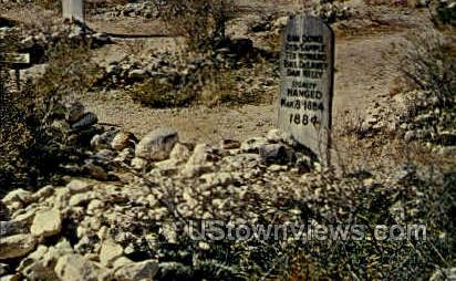 Boothill Cemetery - Tombstone, Arizona AZ Postcard