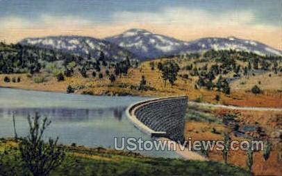 Bill Williams Mountain - Arizona AZ Postcard