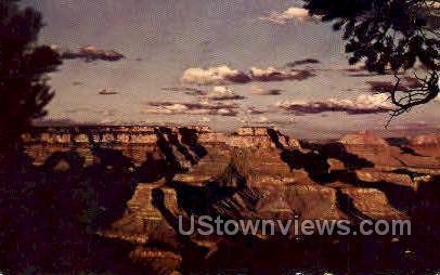 Sunset - Grand Canyon National Park, Arizona AZ Postcard