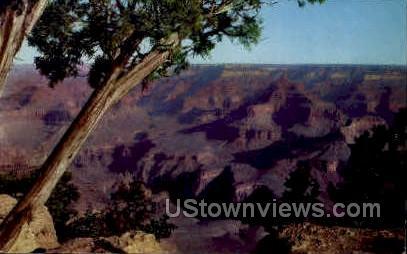 At Yavapai Point - Grand Canyon National Park, Arizona AZ Postcard