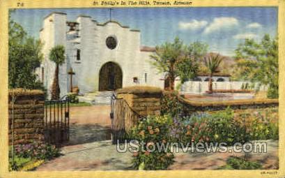 Episcopal Church - Tucson, Arizona AZ Postcard