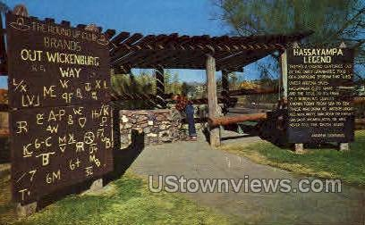 Hassayampa Well - Wickenburg, Arizona AZ Postcard
