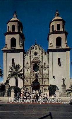San Augustine Cathedral - Tucson, Arizona AZ Postcard