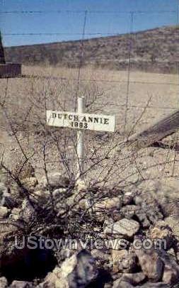 Grave of Dutch Annie - Tombstone, Arizona AZ Postcard
