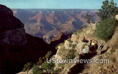 Angel Trail - Grand Canyon National Park, Arizona AZ Postcard