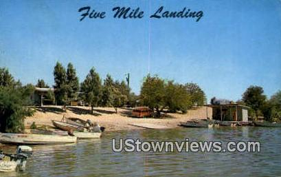 Five Mile Landing - Topoc, Arizona AZ Postcard