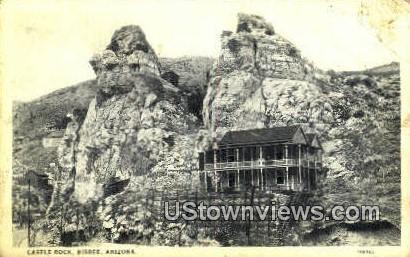 Castle Rock - Bisbee, Arizona AZ Postcard